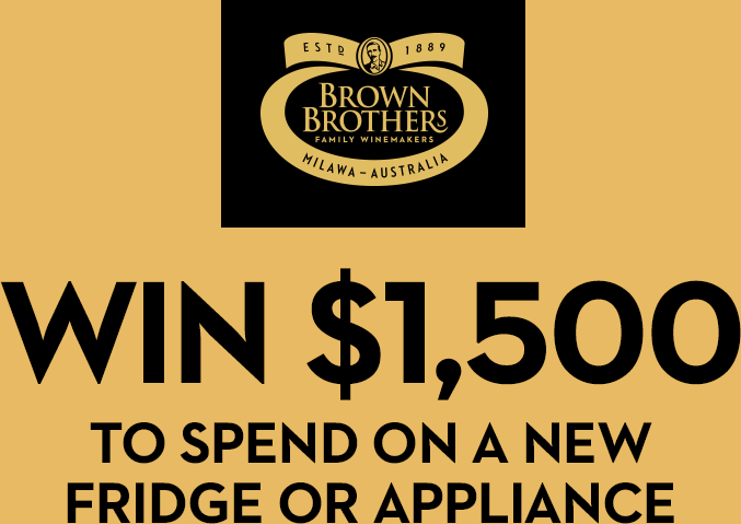 WIN $1,500 TO SPEND ON A NEW FRIDGE OR APPLIANCE